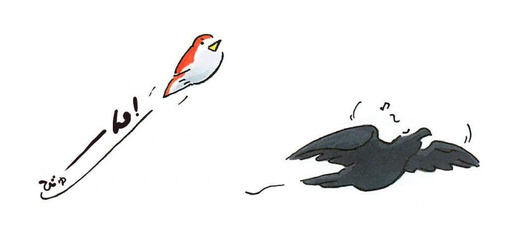 鳥の飛び方