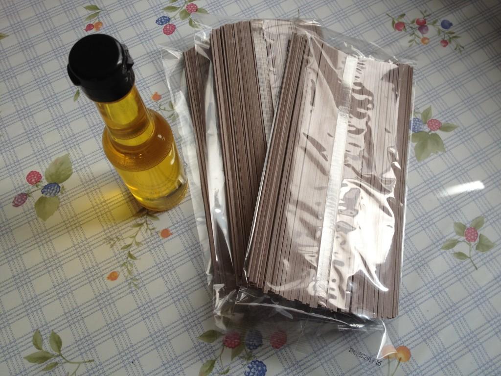 エゴマ油と黒米うどん