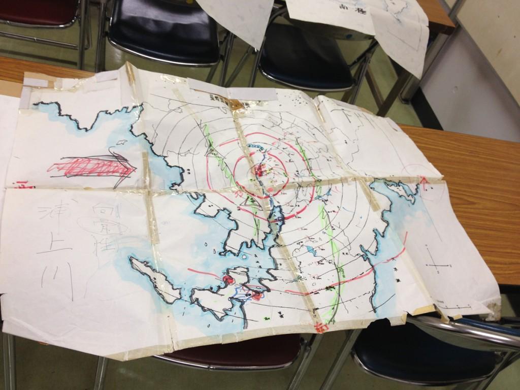 長崎の地図(三輪さん作