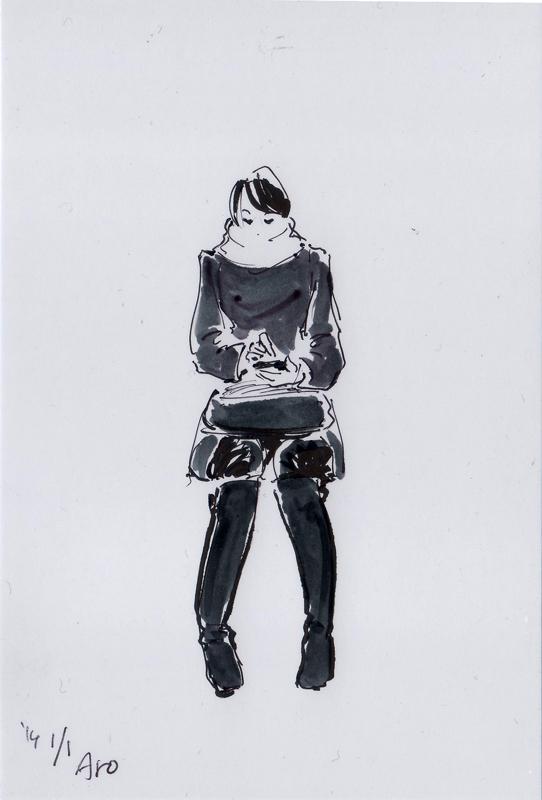 描き初め2014