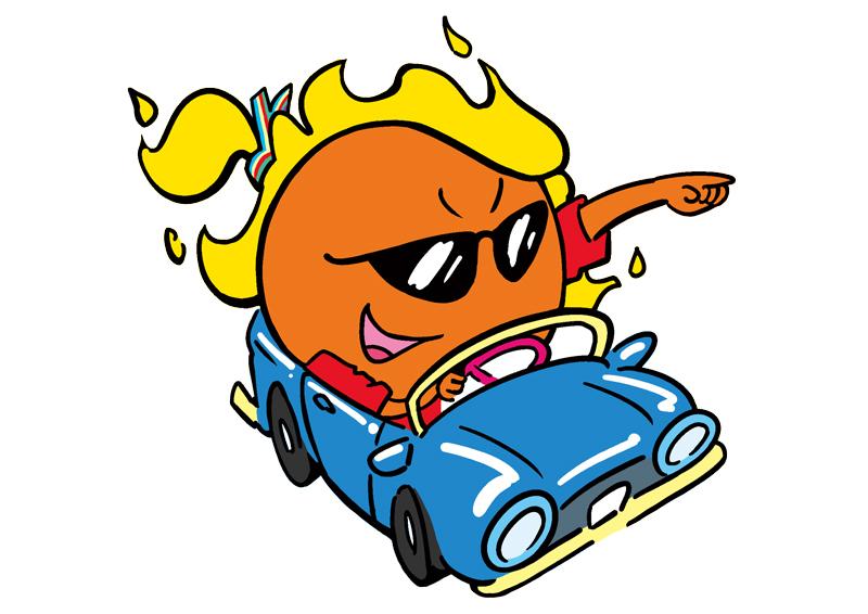 Car laden てぃーだ キャラクター