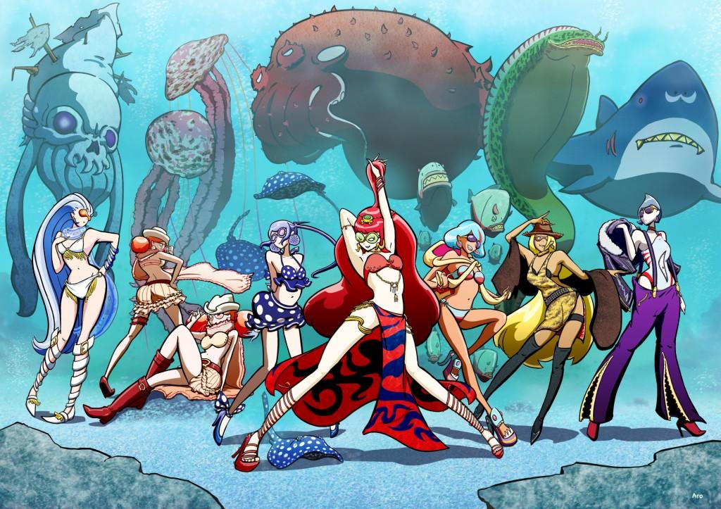【Attack of the sea devils】